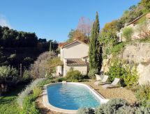 Grasse - Maison de vacances Ferienhaus mit Pool (GAS100)