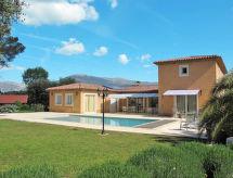 Roquefort les Pins - Vakantiehuis Ferienhaus mit Pool (RLP110)