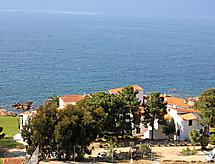 Punta Paliagi Resepsiyonun bulunduğu ve deniz manzaralı