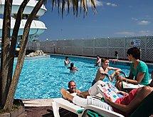 Caravan Perran Sands con piscina climatizada y para llanuras ciclismo