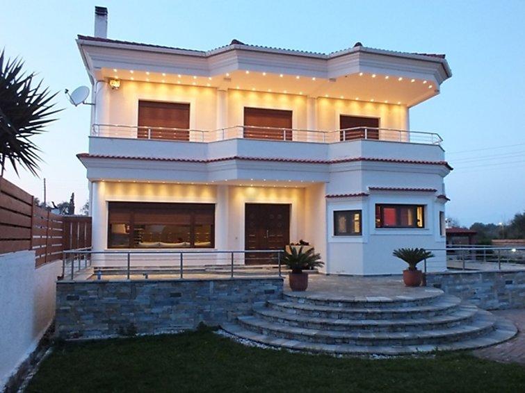Casa di vacanze Acharavi Villa con terrazza und bagno