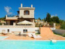 Luxury Villa Anemones Lefkada mit Pool und Ofen