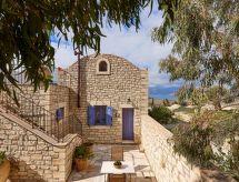 Orelia Cretan Villa 2 cpiscina per bambini und con patio