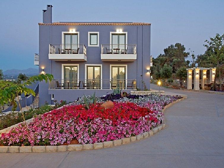 Asteri holiday house carme villa kalyke in asteri, rethymno, greece gr6491