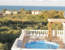 Athina Villa con giardino und internet