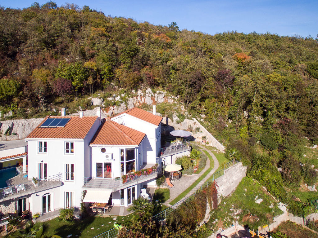 Ferienwohnung Bella Vista (OPA100) (105305), Jurdani, , Kvarner, Kroatien, Bild 14