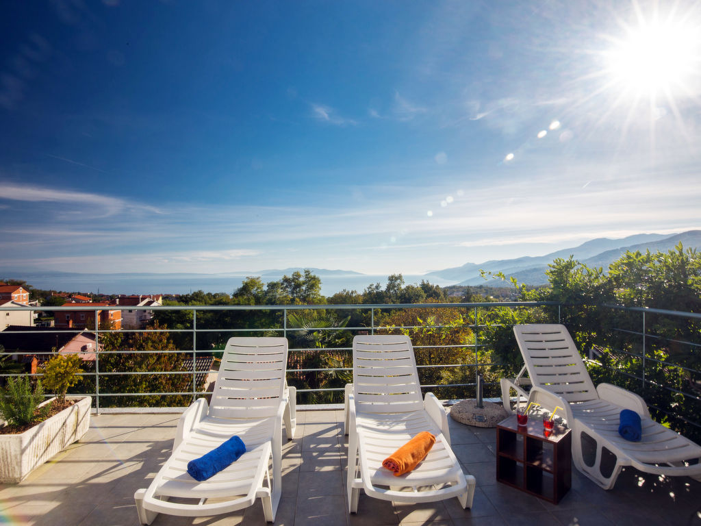 Ferienwohnung Bella Vista (OPA100) (105305), Jurdani, , Kvarner, Kroatien, Bild 13