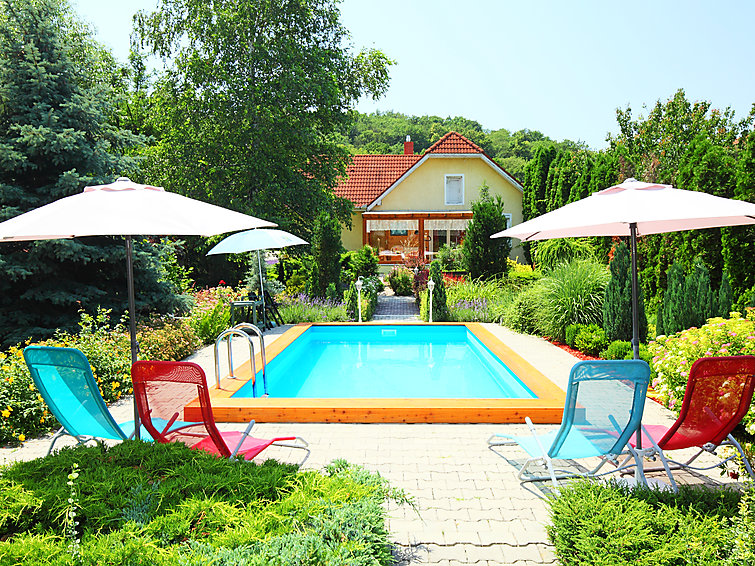 met je hond naar dit vakantiehuis in Balatonfured/Pécsely