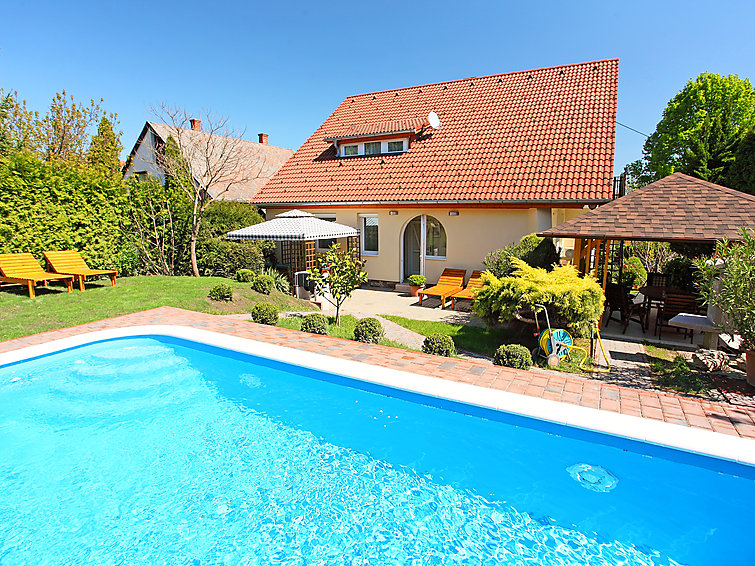 Ferielejlighed Balaton A2009 med pool og tv