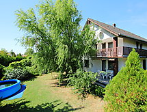 Balaton H325 with sailing opportunities and terrace