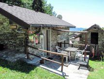 Cannero Riviera - Ferienhaus Baita Borsetta (CNR510)