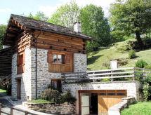 Val Bregaglia/Bergell - Ferienhaus RUSTICO MONTE DEGLI ORTI (VBL200)