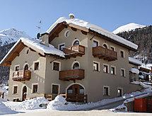 Livigno Ski Apartments yakınında kayak alanı ve duşu