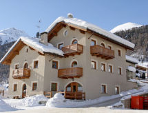 Livigno Ski Apartments Park yeri ile ve dağ bisikleti için
