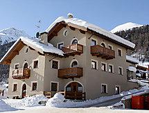 Livigno Ski Apartments bisikletli ovalar için ve Mikrodalga ile