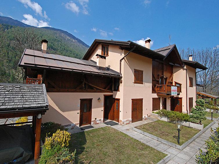 Apartamento de vacaciones Palazzina Sole para llanuras ciclismo y con cuna