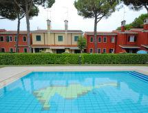Michelangelo med pool til børn og tæt forlystelsespark