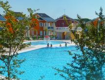 Green Village mit Solarium und einem Pool für Kinder