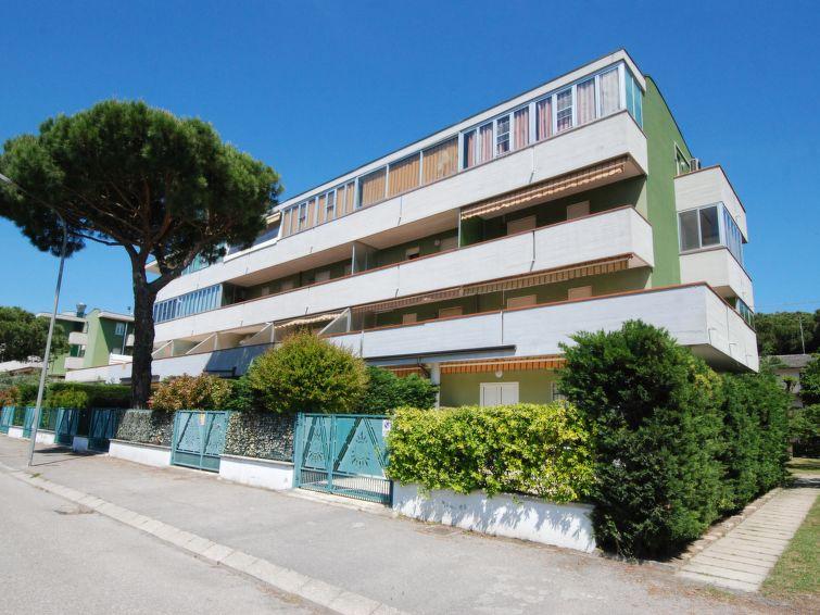 Tatil Daire Il Sole Tv ile ve balkonlu