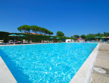 Camping Classe Village con terrazza und patio