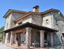 Villa Sovaggio da 8 pax met balkon en internet