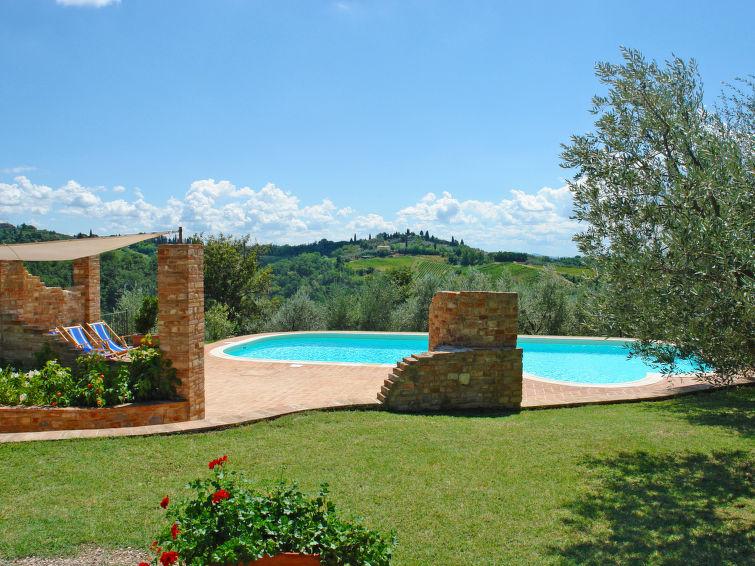 Vrijstaande villa Il Casolarino (6p) met prive zwembad, Toscane, Italie (I-781)