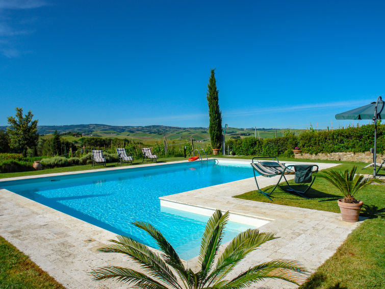 Holidayhome Tassinaia (10p) with beautiful view over the provence Chianti in Italy (I-726)