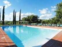 Castellina in Chianti - Appartement Tenuta Le Gallozzole (CTC172)