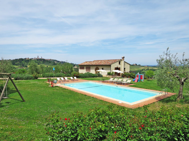Le Fonti di Santa Lucia (SGI330) - Apartment - San Gimignano
