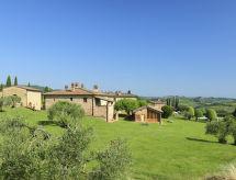 Itálie, Toskánsko Chianti, San Gimignano