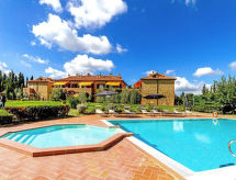 Montaione - Appartement Ciclamino