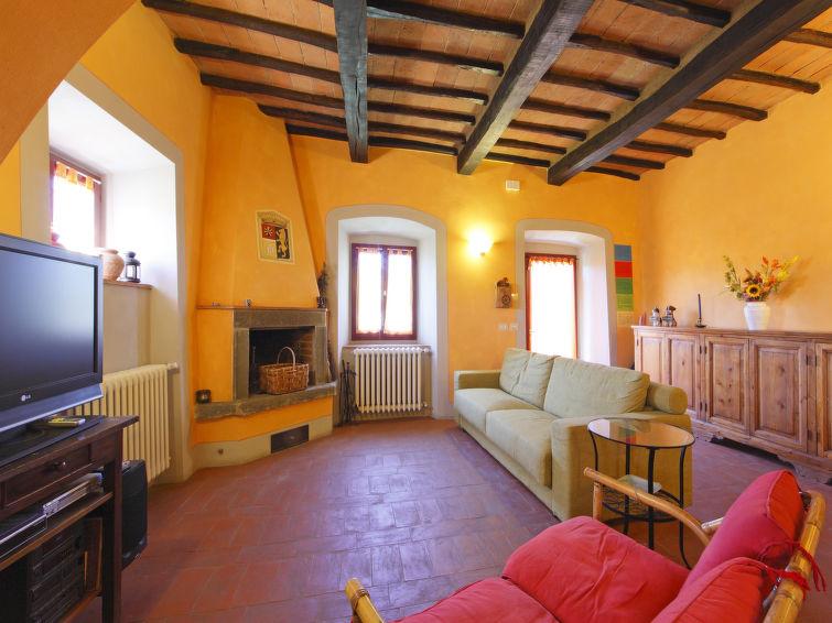 Halfvrijstaand huis Selvapiana (6p) met gezamenlijk zwembad in Toscane, Italie (I-784)