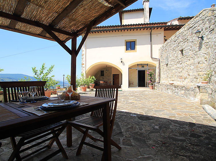 Holidayhome Monteloro (12p) with wifi swimmingpool and fireplace nearby Perugia Italy (I-708)