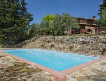 Badia a Passignano - Ferienhaus Badia a Passignano