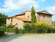 Gaiole in Chianti - Vakantiehuis Cerbiatto n°5A