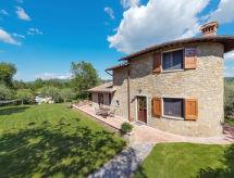 Radda in Chianti - Vacation House Villa del Poggio (RDD160)