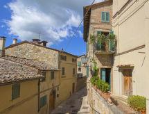 Vista Monte Cetona con camino und balcone