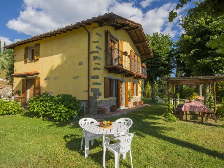 Ferienhaus Pian della Vergine mit Ofen und Geschirrspüler