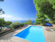 Itálie, Toskánsko pobřeží, Monte Argentario