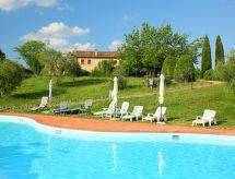 Monteriggioni - Ferienhaus Rocca dei Monaci