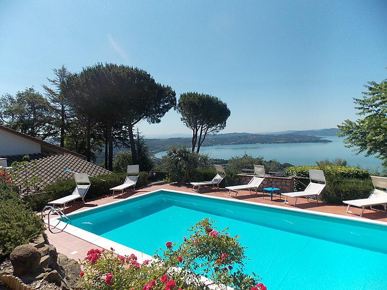 Casa de vacaciones Villa Rossi con cercas y para barbacoa