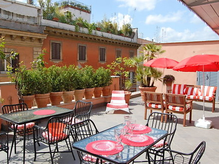 Luxury self catered apartment dolce vita luxury terrace for Use terrace in a sentence