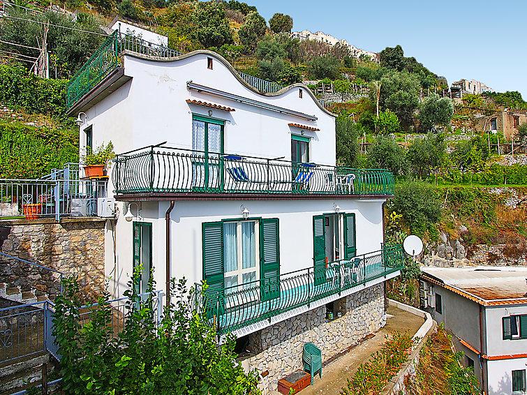 Ferie hjem med terrasse og wlan