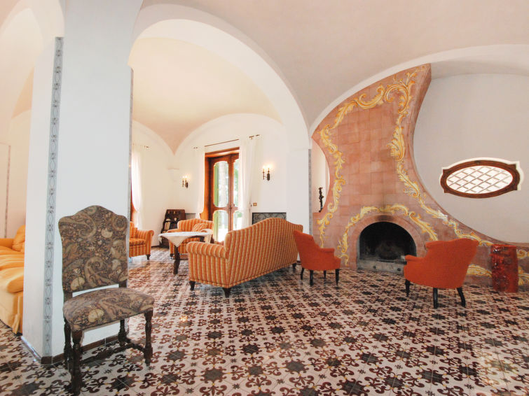 Luxury holiday villa Cetara (16p) by the sea with a beautiful view and WiFi in Italy (I-723)