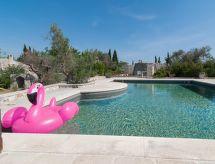 Racale - Ferienhaus Ciampa Pool house