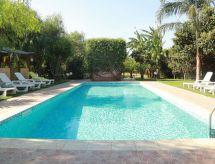 Villa Apani con lavadora y terraza