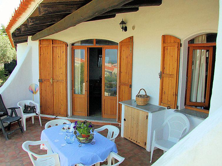Ferie hjem Sa Fiorida B med ovn og til bbq