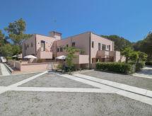 Elba Palmizi ile Bahçe ve bisikletli ovalar için