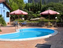Castellamare del Golfo - Ferienhaus Villa dei Mandorli