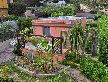Villa Egeo kerítések és zuhanyzóval